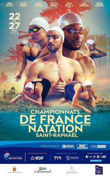 Natation - Championnats de France Elite 2018 - Saint Raphaël
