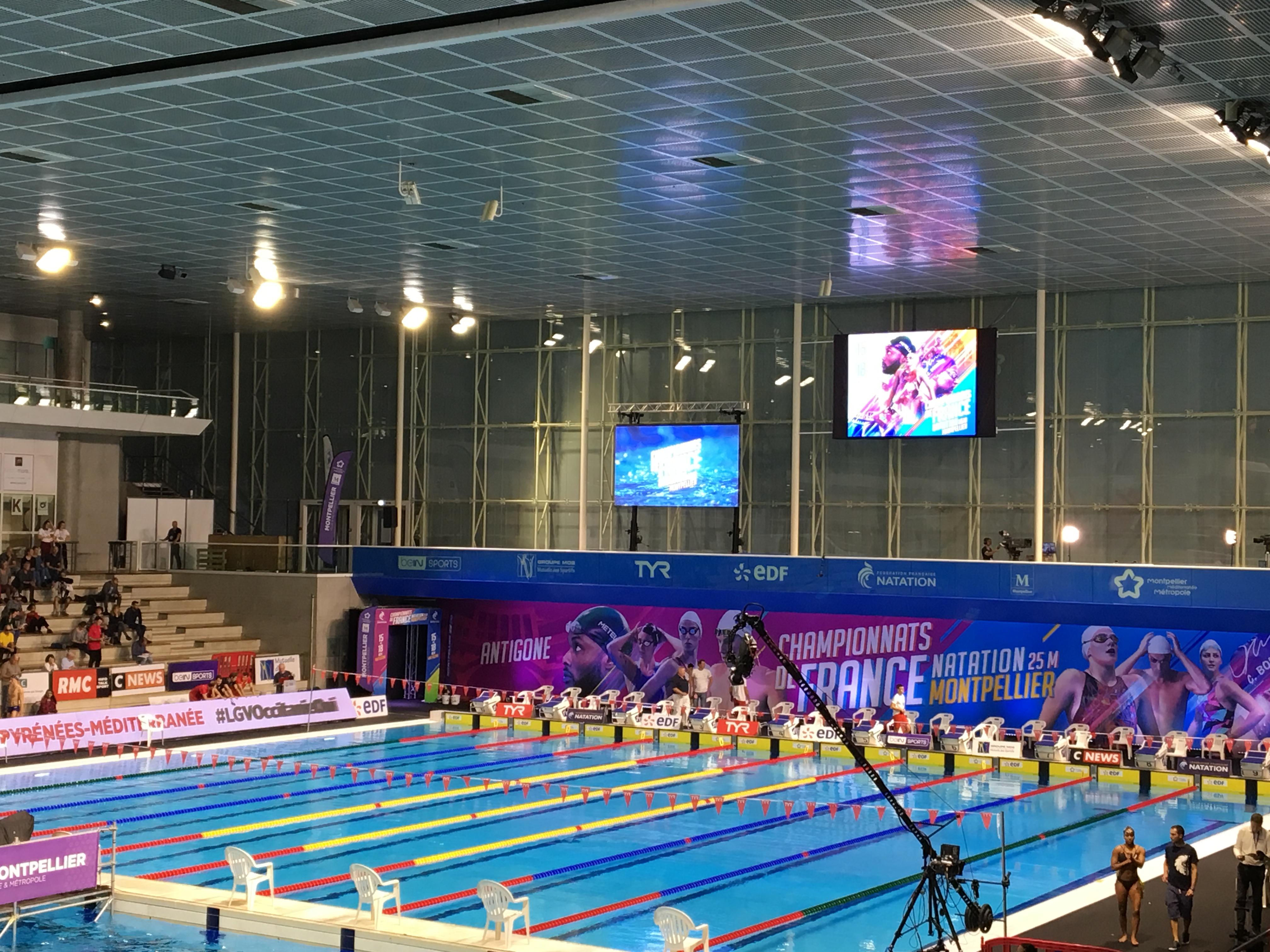 Natation - Championnats de France Elites 25m 2018 à Montpellier